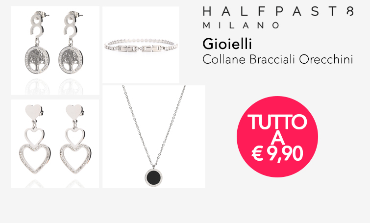 HALFPAST8 Gioielli